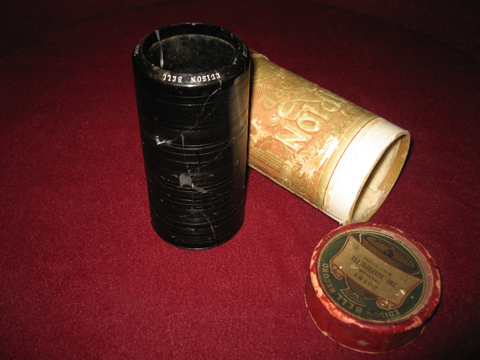 Victorian Gramophone Cylinder