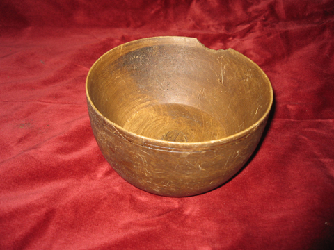 Viking Wooden Bowl
